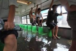 bus innondation