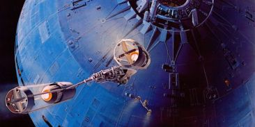 star wars concept-ralph mcquarrie-y wing attaque