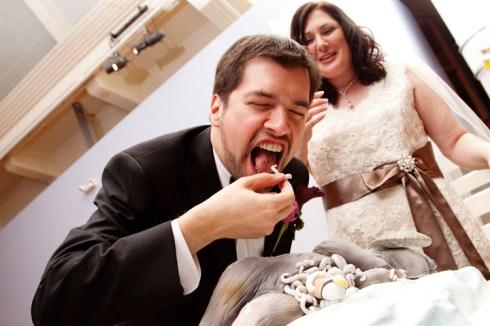 tauntaun gateau de mariage