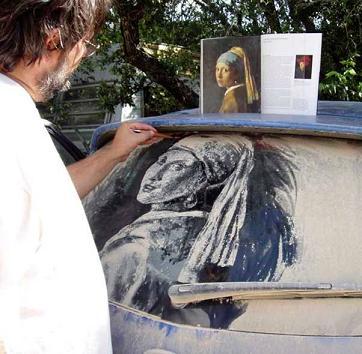 voiture sale peinture