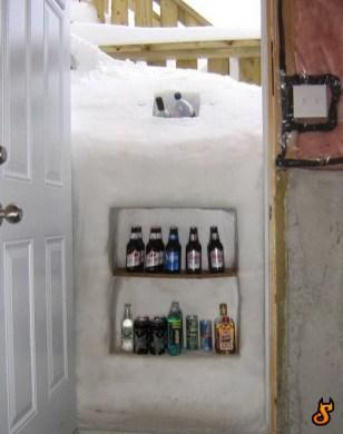biere frigo porte naturel