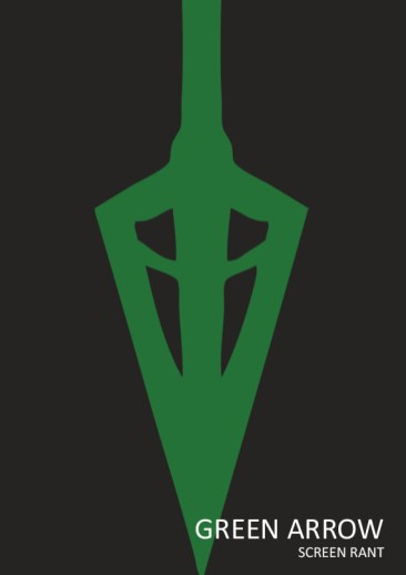 green-arrow-minimalist-poster