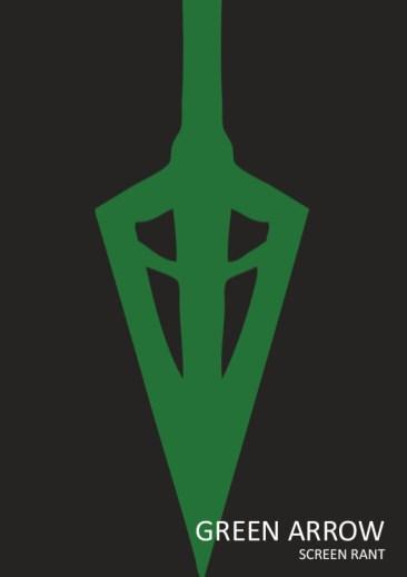 green-arrow-minimalist-poster