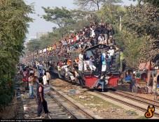 train surchargé