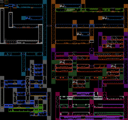 map carte metroid nes