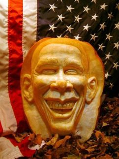 citrouille obama