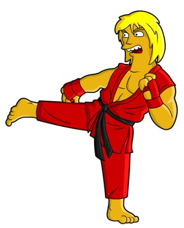 street fighter simpson ken