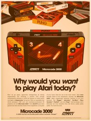 console portable 1977