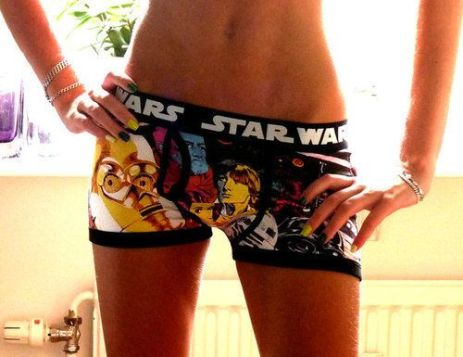 star wars panties