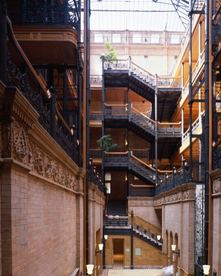 Bradbury Building Los Angeles - Blade runner
