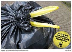 cigogne sac poubelle