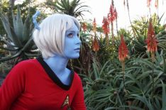 cosplay star trek fille