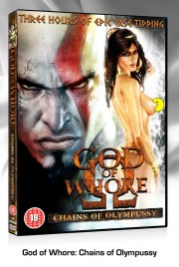 jeu video parodie porno god of whore