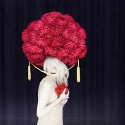 photo chapeau fleurs