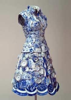 robe en porcelaine