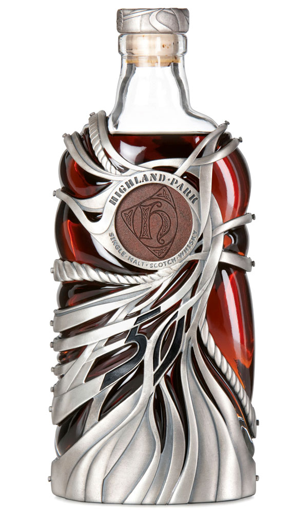 whiskey design bouteille