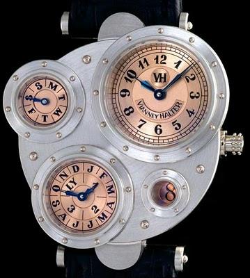Horloge Montre Steampunk halter+antiqua