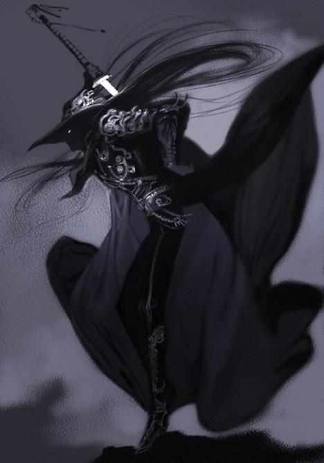 ninja femme noir