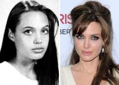 photos de stars jeune ecole Angelina Jolie