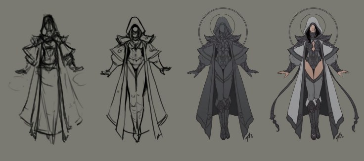 priest dessin evolution