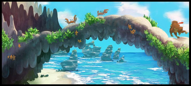 11 concept art donkey kong returns