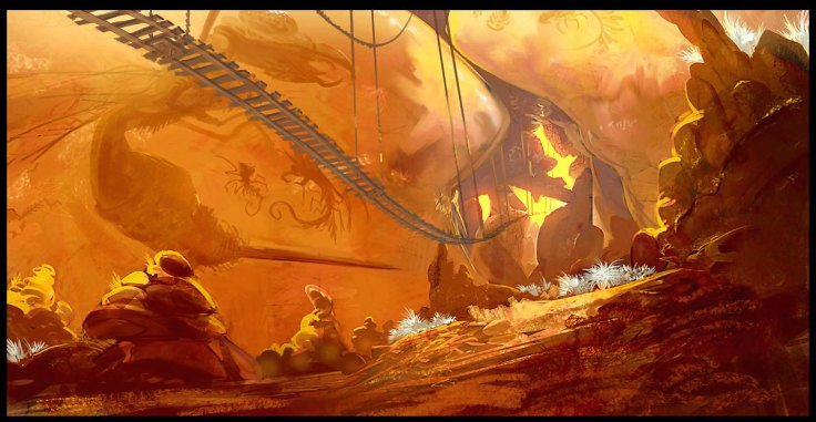 19 concept art donkey kong returns
