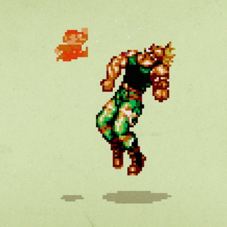 dragon punch mario guile