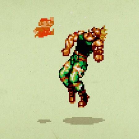 dragon punch mario guile