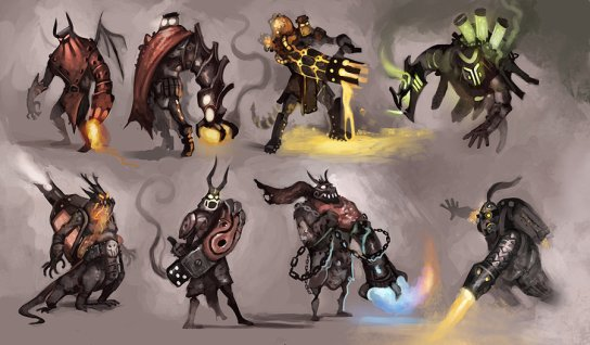 flamethrower variations by abeloroz