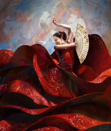 danseuse dessin