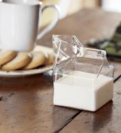 verre de lait design