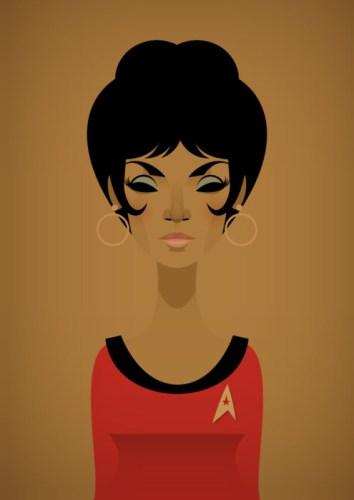 Stanley Chow Illustration — Uhura