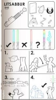 ikea sabre laser
