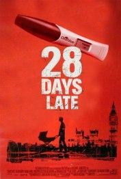 28 jours de retard