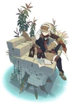 manga anime exploratrice