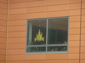 post it fenetre galaga