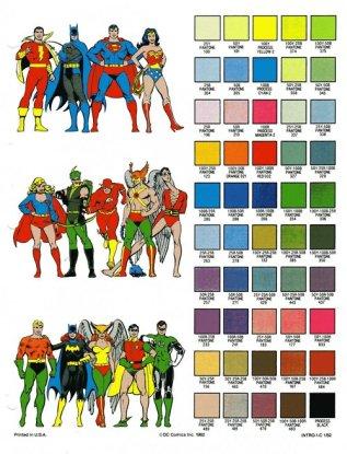 couleur dc comics