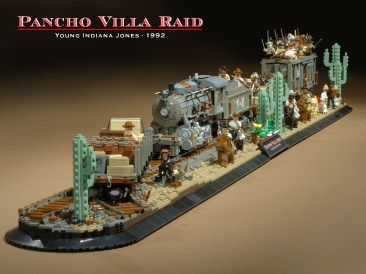 train pancho villa - Brian Williams lego