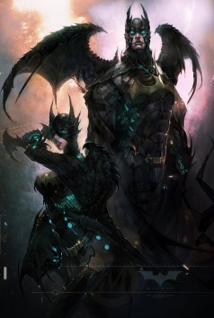 Batman par powenart