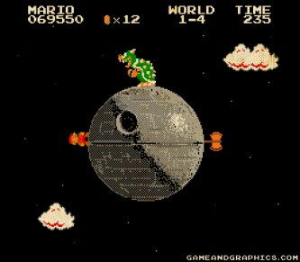Super Mario Galaxy - 8bit Empire Edition by Game and Graphics