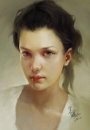 crowgod - Girl portrait