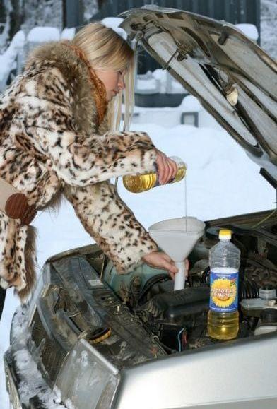 russe huile moteur