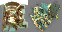 concept dessin ville