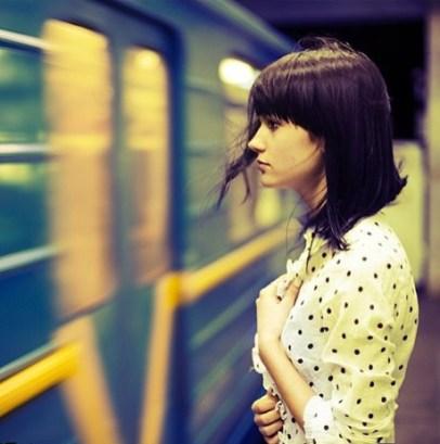 fille metro