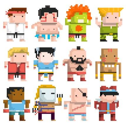 street-fighter-chibi-pixel