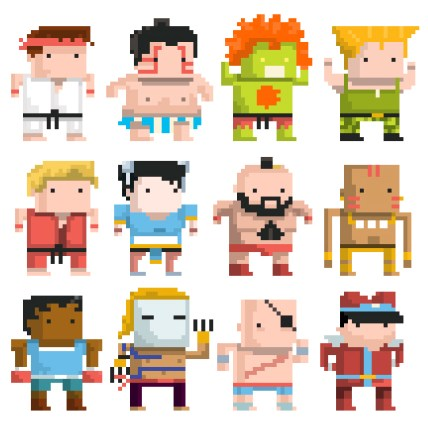 street-fighter-chibi-pixel