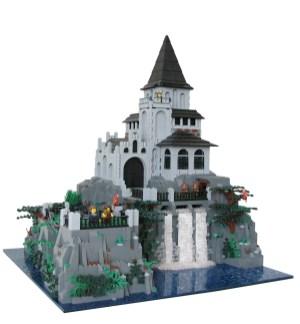 21 chateau lego castle