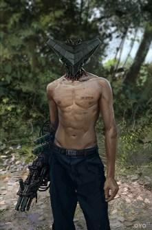 cyborg tete tringle