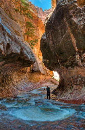 paysage mer falaise