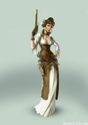 steampunk star wars leia